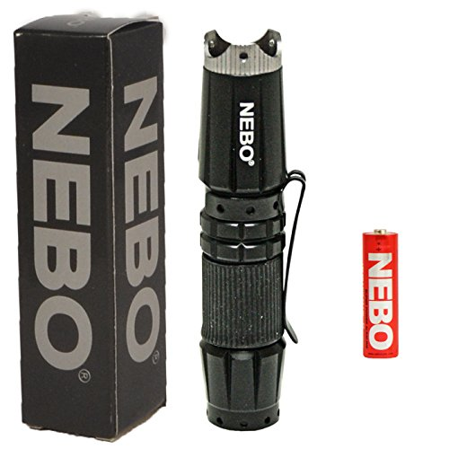 Nebo Aluminum Flashlight Battery Included