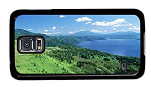 Sale Samsung S5 covers funny Japan Hokkaido beautiful landscape PC Black for Samsung S5,Samsung Galaxy S5,Samsung i9600