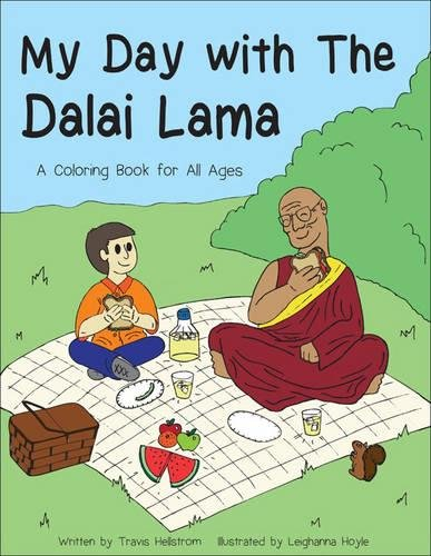 My Day with the Dalai Lama: A Coloring Book for All Ages