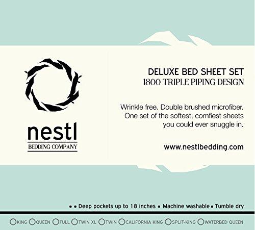 Split King Size Bed Sheets Set bed sheet Pillowcase Sets