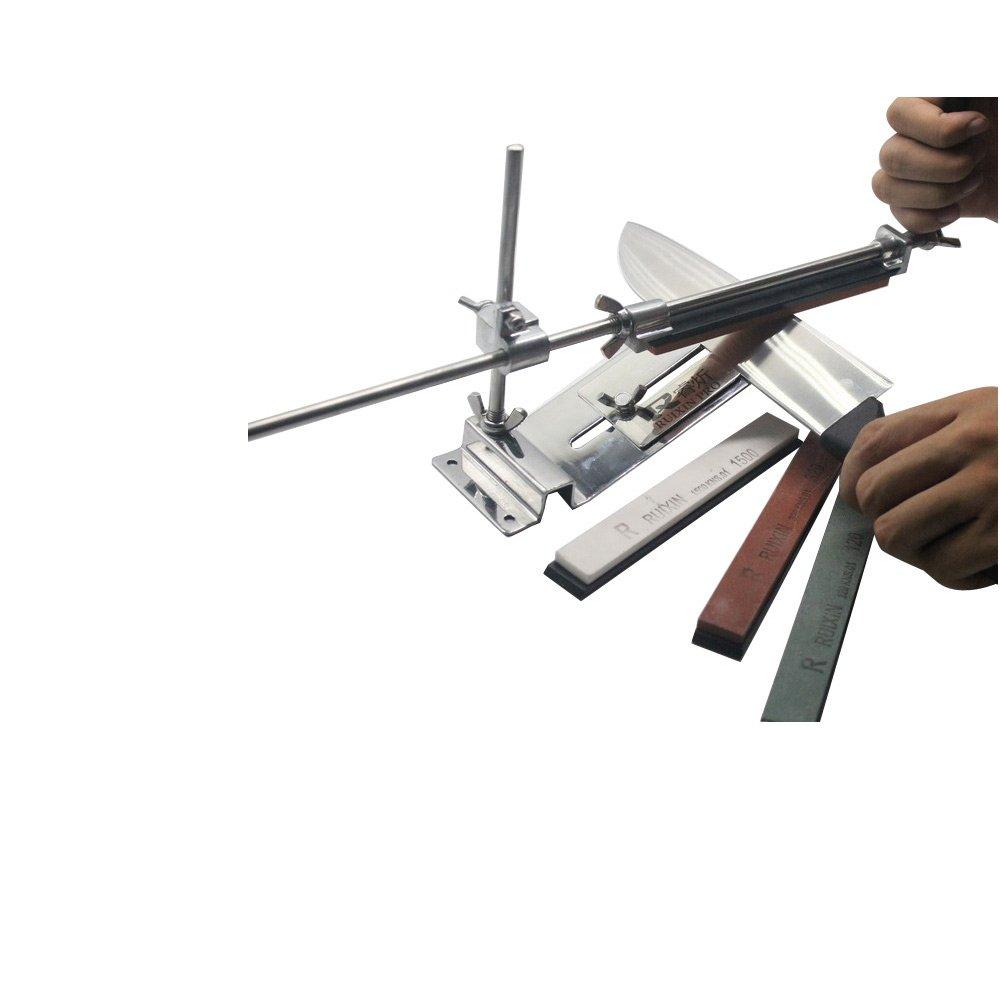 amazon com docooler upgraded fixed angle knife sharpener kit full
