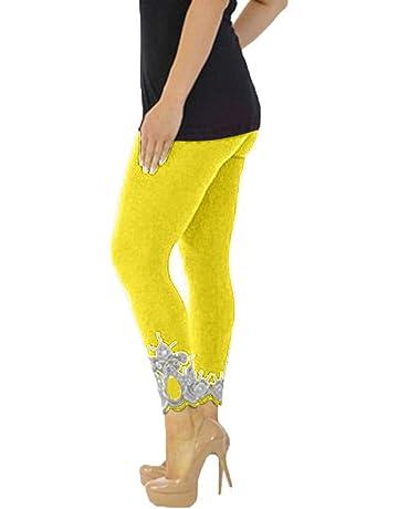 82f182cbce129 Fashion Women Yoga Leggings Lace Plus Size Skinny Sport Pants Exercise  Trousers