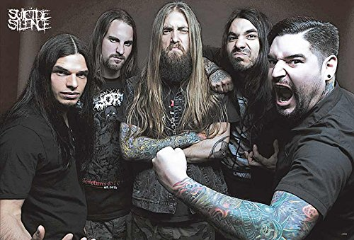 J-4800 Suicide Silence - Music Wall Decoration Poster#7 . Rare New - Image Print