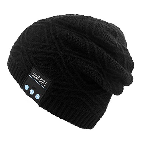 NINE BULL Bluetooth Slouchy Beanies product image