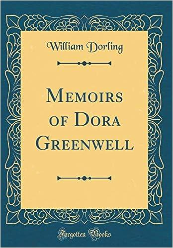 Dora Greenwell dorothy greenwell