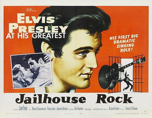 Elvis Presley Jailhouse Rock Poster Replica Photo Print