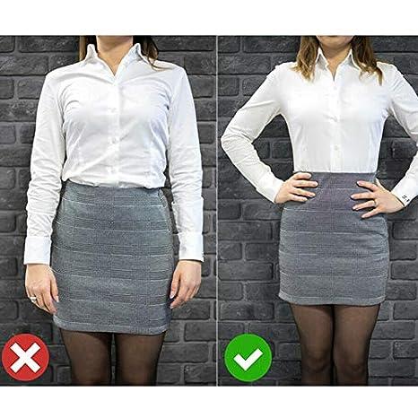 Alftek Hemdhalter verstellbar in der N/ähe von Hemd bleiben am besten Tuck It Belt f/ür Frauen M/änner Arbeit Interview