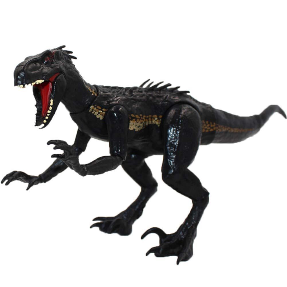 Jurassic Dinosaur Toy, World Indoraptor Dinosaur Figure Velociraptor Action Figure Animal Model for Kids Boys, 15cm