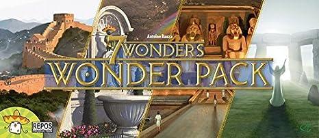 Repos 7Wonders Wonder Pack Juego de tablero: Amazon.es: Juguetes y juegos