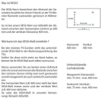 TradeMount Soporte de Pared para TV/Monitor de un Brazo en Extensible de 7,3 cm a 44 cm orientable inclinable 12° para LG 42
