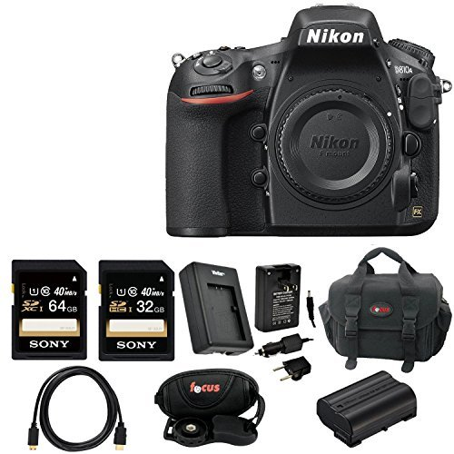 Nikon D810A FX-format Digital SLR Camera Body with Deluxe Accessory Bundle