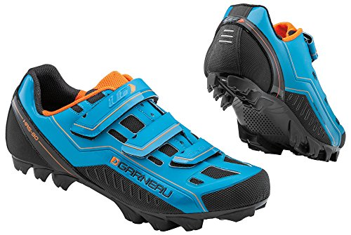 Louis Garneau Gravel Bike Shoes, Sapphire, 48
