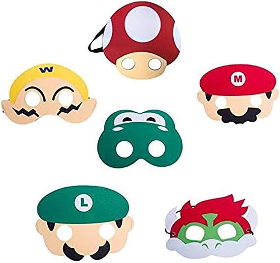 Masque Mario Adulte Taille Unique