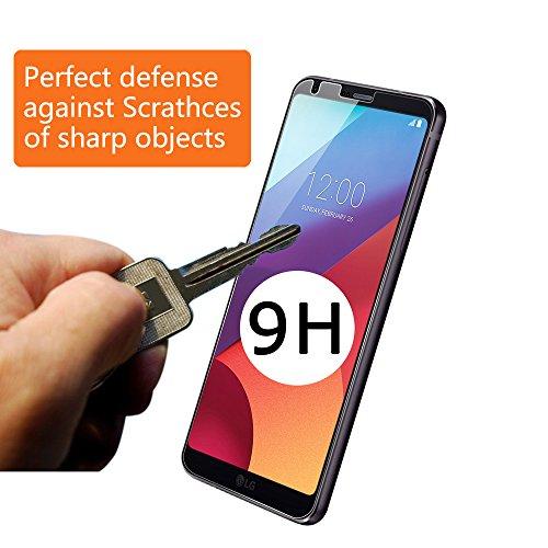 Widamin LG G6 G6+ [2Pack] cristal Film Protector de pantalla, 9H templado vidrio pantalla protección Protector HD claro para LG G6+: Amazon.es: Electrónica