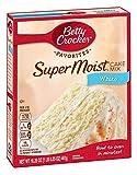 American Betty Crocker Supermoist White Cake Mix, 461g Box
