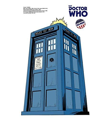 TARDIS - Doctor Who Mini Comic - Advanced Graphics Mini Cardboard Standup (Tardis Mini)