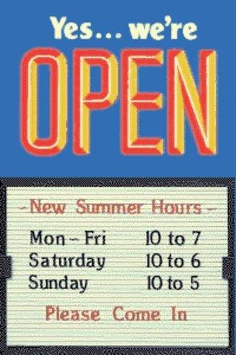 Closed Message Board - Open Closed 14