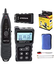 NOYAFA dvanced Cable Tester with PoE Multifunction Wire Tracker Network Cable Tester for te Toner Tool Kit for LAN CAT5 CAT6 Tracker(not include battery)