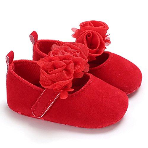 Sabe Baby Mädchen Lauflernschuhe Rot