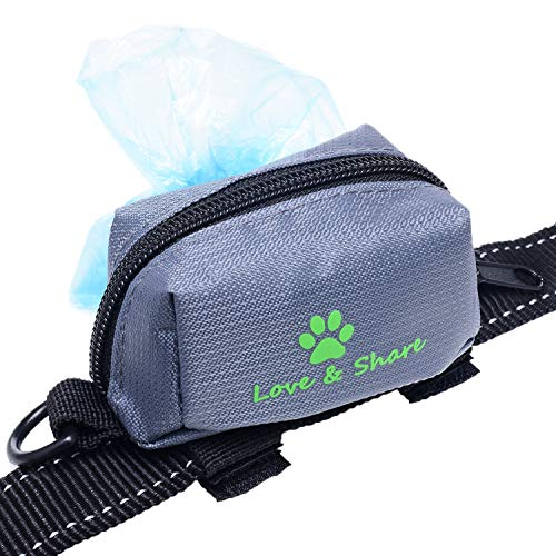 Dog Poop Bag Holder, Dog Waste Bag Dispenser for Leash Attachment – Dog Accessory