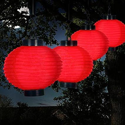 amazon com weatherproof outdoor solar chinese lanterns led with