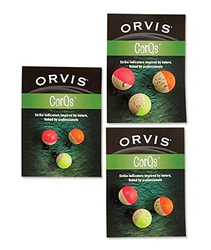 Orvis Corqs Strike Indicators, Neon, 1/2 (Orvis Indicator)