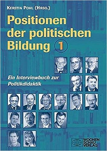 Positionen der politischen Bildung/Positionen der politischen ...