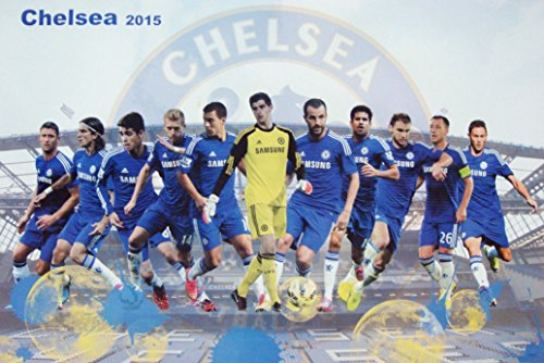 CHELSEA F.C. 2015 Football Soccer Wall Decoration Poster (#006)