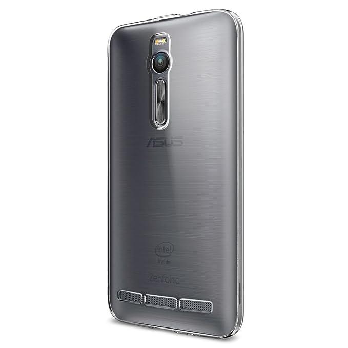 """109 opinioni per Cover Asus ZenFone 2, [ZE550ML/ZE551ML] 5.5"""", Spigen® [Cover Chiaro Cristallo]"""
