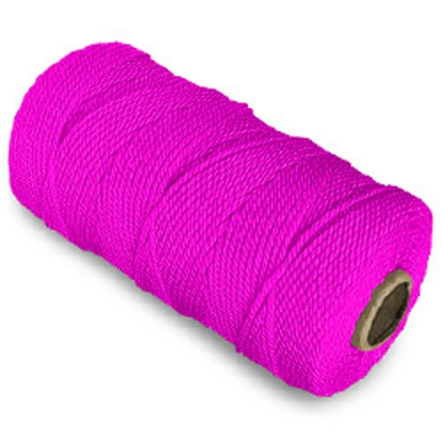 CWC Twisted Mason Twine - #18 x 1100', Pink (Pack of 12 cones)