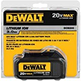 DEWALT 20V MAX Battery, Compact 1.5Ah (DCB201)