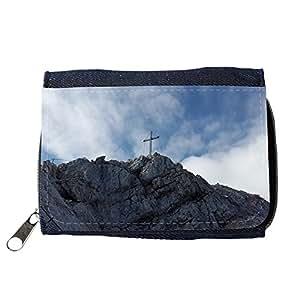 le portefeuille de grands luxe femmes avec beaucoup de compartiments // M00312038 Alpspitze Cruz de la cumbre cumbre de // Purse Wallet