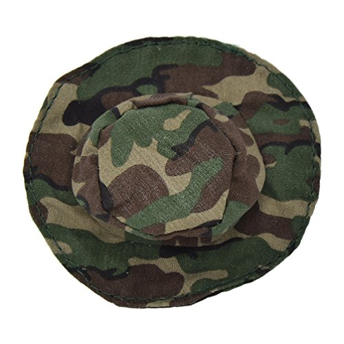 Towashine 1Pc 1/6 Scale Camouflage Tactical Hat for 12 inches Action Figure Soldier Military Figure Toys ()