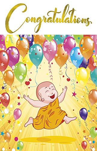 Felicitaciones - Tarjeta de felicitación mística: Amazon.es ...