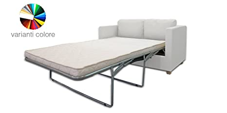 Eolo - Sofá cama de 2 plazas multicolor: Amazon.es: Hogar