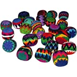 Set of 25 Hacky Sacks, Assorted Colors