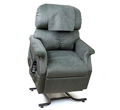 Golden Technologies MaxiComfort Dual Motor Comforter Lift Chair Infinite Position Recliner PR-505T Tall MaxiComforter - Evergreen Fabric - In-Home Delivery ()