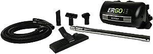 Atrix VACHV1 Ergo Lite Vaccuum Lightweight Powerful Ergonomic Corded Hip Vac, Black