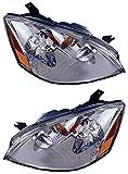 2004 altima headlight assembly - Prime Choice Auto Parts KAPNS10081A1PR Headlight Pair