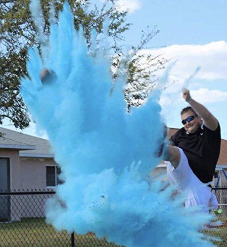 Gender Reveal Football Gender Reveal (Blue) by Poof (Image #1)