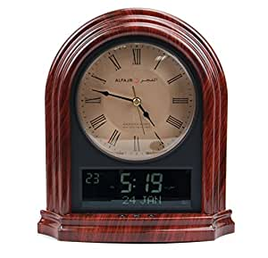 Al-Fajr Automatic Azan Clock Islamic Muslium Nimaz Prayer (CA-21)