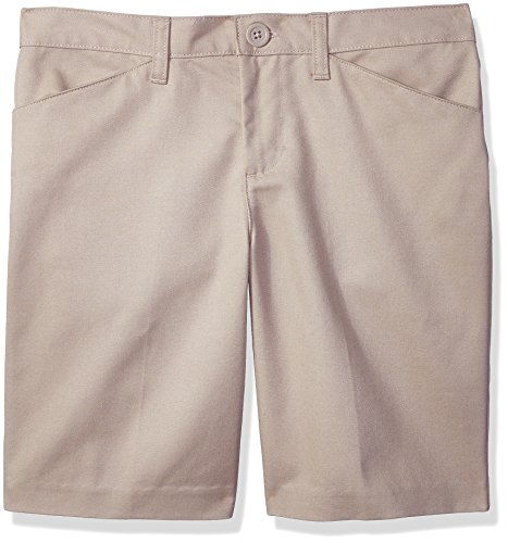 - Classroom Uniforms Big Girls' Plus Size Low Rise Short, Khaki, 18h