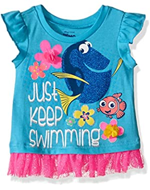 Baby Girls' Finding Dory Tulle Top