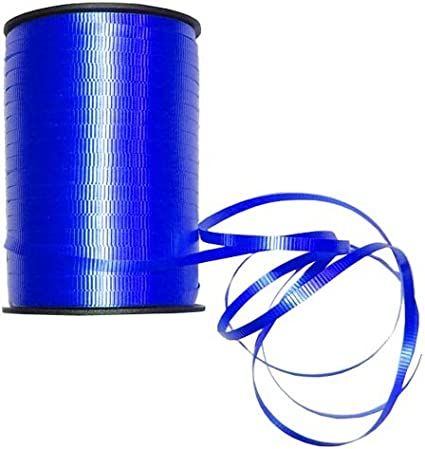 """Royal Blue 1500ft Spool Balloons Crimped Curling Ribbon 3//16/"""" 500 YDS"""