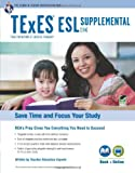 img - for TExES ESL Supplemental (154) Book + Online (TExES Teacher Certification Test Prep) book / textbook / text book