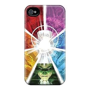 Apple Iphone 4S NDu11947EktB Support Personal Customs High-definition Green Lantern Corps Image Shock-Absorbing Hard Phone Case -LauraFuchs