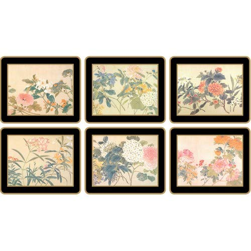 Lady Clare Coasters - Chinese Flowers - Set of 6 ()