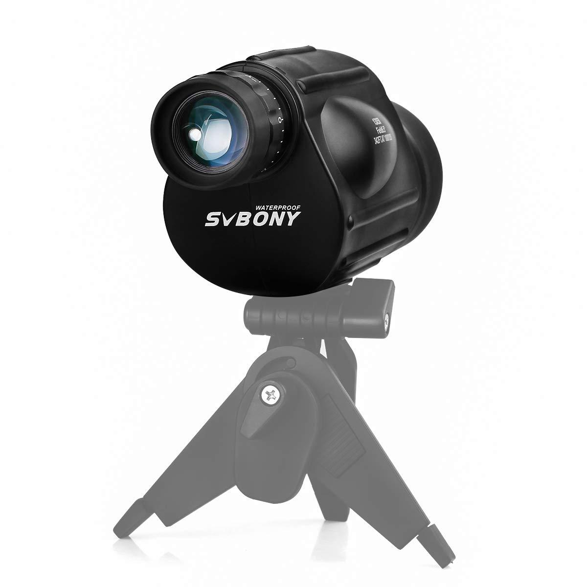 Svbony SV49 Monoculaire T/élescope 13x50 FMC Bak-4 Focalisation d/'Une Seule Main Monoculaire Puissant pour Observation des Oiseaux Camping Sport Concert