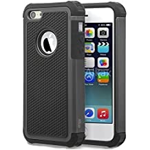 iPhone 5C Case , 5C Case ,Alkax Slim Heavy Duty Rugged Hybrid Anti-Scratch Protection Dual Layer Soft TPU inner Bumper & Hard PC Cover for Apple iPhone 5C + 1 Stylus Pen