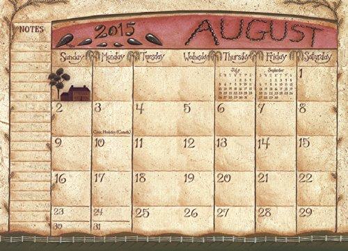 Legacy Publishing Group, Inc. 13-Month 2015 Pocket Calendar, Folk Art by David (PCL14603)